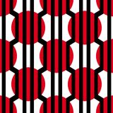 Abstract vector seamless op art pattern. Colorful graphic ornament. Abstract vector seamless op art pattern. Colorful graphic ornament royalty free illustration