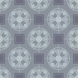 Abstract vector seamless pattern. Seamless floral pattern for design, vector Illustration royalty free illustration