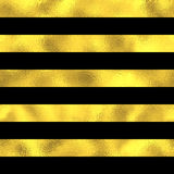 Abstract vector seamless pattern with gold stripes Stock Image