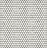 Abstract vector seamless pattern with irregular structure of repeating gray circles with volume effect. Stock Photos