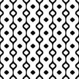 Abstract vector seamless pattern. Simple geometric background Royalty Free Stock Images