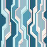 Abstract Vector Seamless Pattern With Lines. Stock Photos