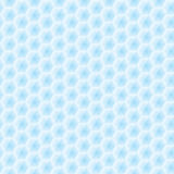 Abstract vector seamless texture - blue hexagons Stock Photo