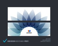 Abstract vector set of horizontal website banners with colourful flowers abstract shapes for web design. Abstract vector set of modern horizontal website Royalty Free Stock Photo