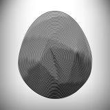 Abstract vector shape vector illustration