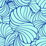 Abstract vector shapes seamless pattern Stock Photos
