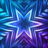 Abstract vector shining cosmic star Stock Images