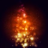 Abstract vector shiny Christmas background. Abstract bright shiny Christmas background Stock Photos
