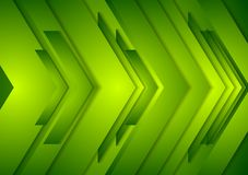 Abstract vector shiny tech background. Green Stock Images
