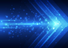 Abstract vector speed technology background, illustration Royalty Free Stock Photography