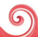 Abstract vector spiral background crimson colour Royalty Free Stock Photos
