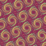 Abstract vector square. For pattern. Spiral Stock Photography
