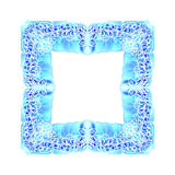 Abstract vector square ornamental border frame Stock Photography
