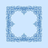 Abstract vector square ornamental border frame Royalty Free Stock Images