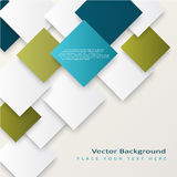 Abstract vector squares background Stock Photos