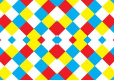 Abstract vector squares pop art pattern background. Moderm sytle Stock Image