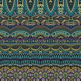 Abstract vector stammen etnisch patroon als achtergrond Royalty-vrije Stock Foto's