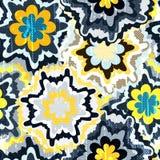 Abstract vector stammen etnisch patroon als achtergrond Royalty-vrije Stock Afbeelding