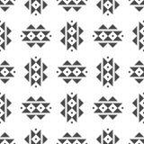 Abstract vector stammen etnisch patroon als achtergrond Stock Foto