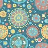 Abstract vector stammen etnisch patroon als achtergrond - achtergrond Royalty-vrije Stock Afbeeldingen