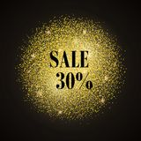 Sale gold Royalty Free Stock Images
