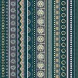 Abstract vector strip pattern Stock Photos
