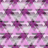 Abstract vector striped background Stock Images
