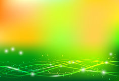 Abstract vector summer background Stock Photography
