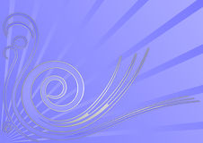 Abstract Vector Swan Background Royalty Free Stock Image