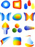 Abstract vector symbols Stock Image