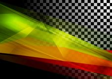 Abstract vector tech background Stock Image