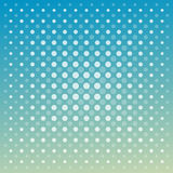 Abstract vector techno dots blue green background Stock Photo