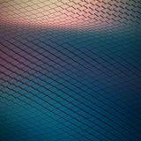 Abstract Vector Technological Waveform Backround Royalty Free Stock Image