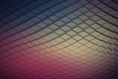 Abstract Vector Technological Waveform Backround Royalty Free Stock Images