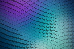 Abstract Vector Technological Waveform Backround Royalty Free Stock Photos