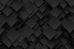 Abstract Vector Technology Dark Background Royalty Free Stock Images