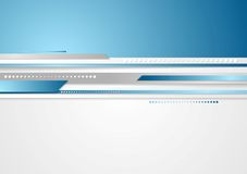 Abstract vector technology stripes design Royalty Free Stock Images