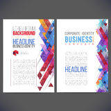 Abstract vector template design, brochure, Web sites, page, leaflet, Stock Photo