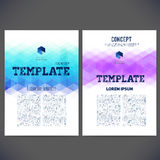 Abstract vector template design, brochure, Web sites, page, Stock Images