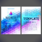 Abstract vector template design Stock Image