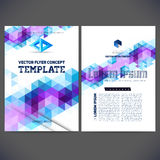 Abstract vector template design Royalty Free Stock Image