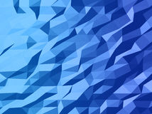 Abstract vector template design with colorful geometric triangular background for brochure, web sites, leaflet. Flyer. Low poly banner Royalty Free Stock Photos