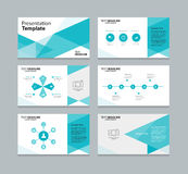 Abstract vector template presentation slides background design Royalty Free Stock Image