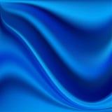 Abstract Vector Texture, Blue Silk Stock Photos