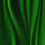 Abstract Vector Texture, Green Silk Stock Photo