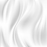 Abstract Vector Texture, White Silk Royalty Free Stock Image