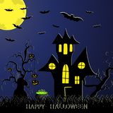 The Halloween Royalty Free Stock Images