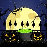 The Halloween Royalty Free Stock Photography