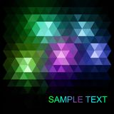 Abstract vector trendy dark purple triangular pattern. Modern polygonal background. vector illustration