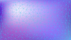 Abstract colorfull triangular pattern. Polygonal gradient background royalty free illustration